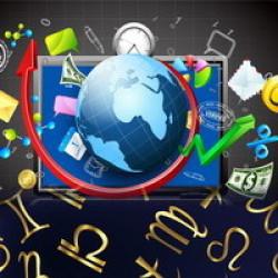 Astrology 2014 in economics and politics